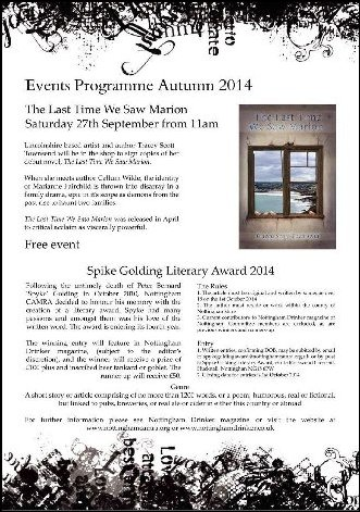 Events Programme 2014 Waterstones