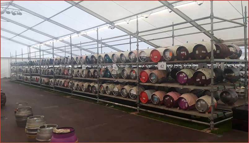 2017 More Rows of Casks