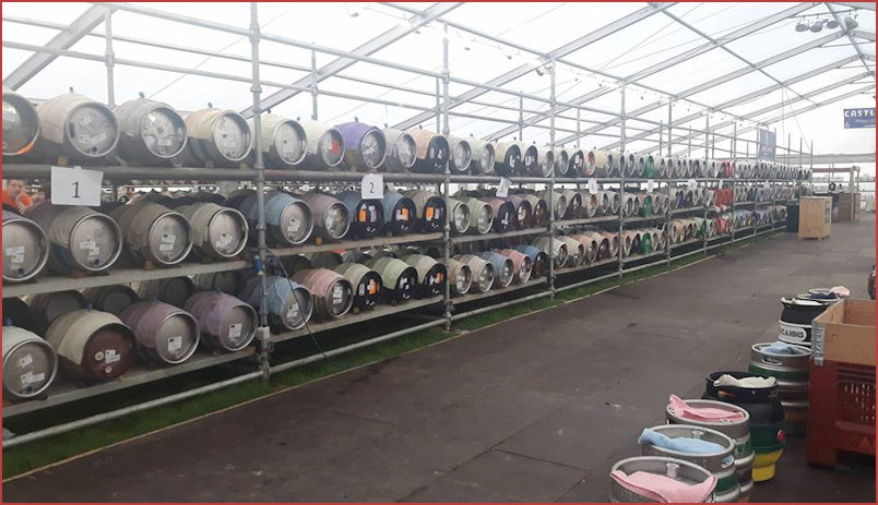 2017 Rows of Casks
