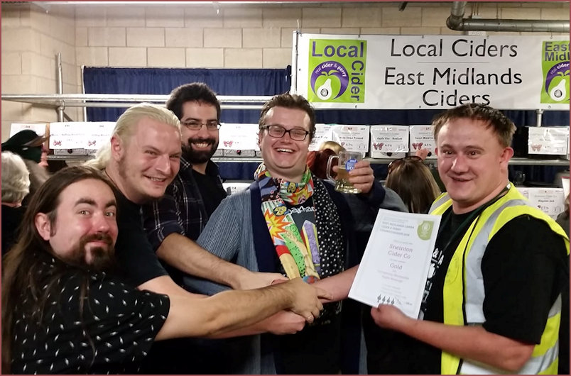 Gold to the new kids on the block of Sneinton Cider Co.