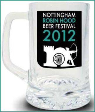 Beer Festival Glass from 2012